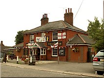 TL8102 : 'The Fox & Hounds' public house at Cock Clarks, Essex by Robert Edwards