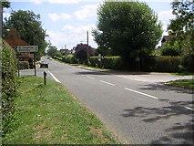 SP8427 : Stewkley Northend Crossroads by Mr Biz