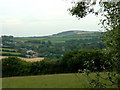 SX0264 : View from Saints Way, near Lanivet by Terry McKenna