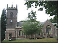 SJ7061 : St Leonard's church, Warmingham by Stephen Craven