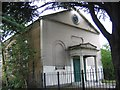 TQ3871 : St John's hall, Bromley Road by Stephen Craven