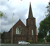 SJ8643 : Church of St John the Evangelist, Trent Vale by Neil Lewin