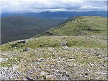 NN4265 : South ridge of Carn Dearg by Chris Wimbush