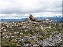 NN4464 : Meall na Meaoig cairn by Chris Wimbush