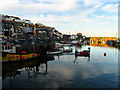 SX0144 : Mevagissey: Inner Harbour by Pam Brophy