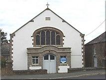 SW8773 : St Merryn Methodist Church by David Hawgood