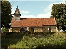 TL7739 : St. John the Baptist church, Little Yeldham, Essex by Robert Edwards