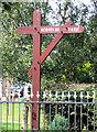 SJ6078 : Sign outside Newholme Farm by Alan Godfree