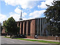 SP3283 : Holy Family Church by David Stowell
