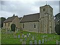 SU8297 : St Botolph's Church, Bradenham, Buckinghamshire by Christine Matthews