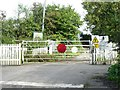 SJ7653 : Railway Crossing, Mill Lane, Oakhanger by Steve Lewin