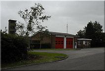 SN8109 : Seven Sisters Fire Station by Cedwyn Davies