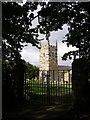 SW7112 : Gateway to St Wynwallow's Church, Landewednack by Jim Champion