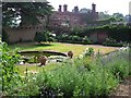 TG1904 : Walled garden, Intwood Hall by Katy Walters