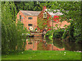 SJ4544 : Dymock's Mill, Tallarn Green by Peter Craine