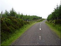 S2516 : Comeragh hill road by Richard Webb