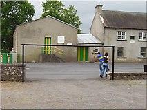 S0813 : Hurling practice,  Goats Bridge by Richard Webb