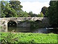 ST6264 : The bridge over the River Chew at Publow by Peter Goodwin