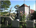 TQ3503 : Ovingdean- St Wulfran's Church by David Eldridge