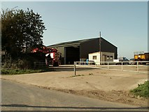 TM0866 : Boundary Farm, near Cotton, Suffolk by Robert Edwards