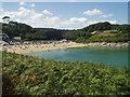 SW7929 : Maenporth Beach by Tim Green