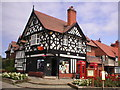 SJ3384 : Port Sunlight Post Office by Richard Slessor