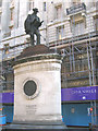 TQ3281 : J.H. Greathead statue, Cornhill by Stephen Craven