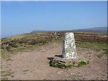 SO1526 : Mynydd Llangorse trig by Iain Macaulay