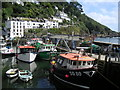 SX2150 : Polperro Harbour by Rib