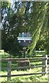 TF6422 : South Wootton village sign by Martin Pearman
