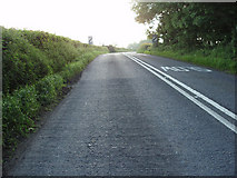 ST6036 : A37 almost at the top of Wraxall Hill by Stombiate