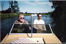 TG2918 : Afloat on the Broads by Stanley Howe