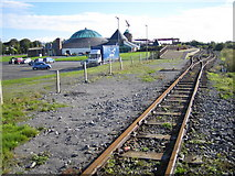 Q8313 : Tralee & Blennerville Steam Railway Station and Aqua Dome by Nigel Cox