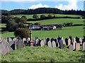 SN6872 : Cemetery at Llanafan by John Lucas