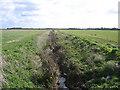 TL2299 : Padholme Drain, Flag Fen, Peterborough by Rodney Burton