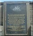 Photo of Hercules Linton black plaque