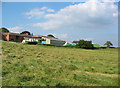 SJ5247 : Hay bales at Bickley Hall Farm by Espresso Addict