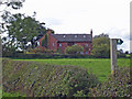 SJ6251 : Acton by Nantwich: view towards Corner Farm by Mike Harris