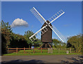 TL2755 : Great Gransden Windmill by Richard Thomas