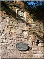 Photo of City Walls and Romans black plaque