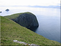 NG4098 : NW point of Garbh Eilean, Shiant Isles by Tony Kinghorn