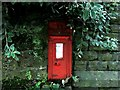SE0240 : Victorian Letterbox at Goose Eye. by Steve Partridge