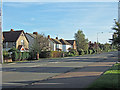 SP8411 : The A413 in Stoke Mandeville, going towards Wendover by sijon