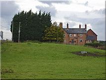 SJ7445 : Checkley - Checkley Wood New Farm by Mike Harris