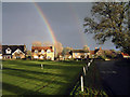 SE2385 : Thornton Watlass village green by John Chamberlain