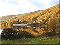 SN6979 : Cwm Rheidol Dam by John Lucas