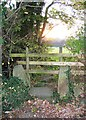 Dist:0.8km<br/>The interesting old stone stile has been wrecked and superseded by a modern wooden 'thing'.