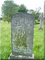 Gravestone (1929) found in Ancroft Church.