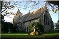 TL4878 : Wentworth Church by Bob Jones