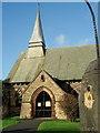 SJ6569 : Parish Church of St. Stephen Moulton by David Marten